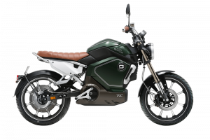 Moto eléctrica Super Soco